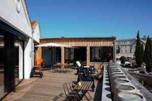 MOTA Coworking Manutention tonneaux terrasse Bordeaux